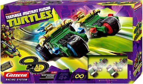 Nickelodeon Teenage Mutant Ninja Turtles Carrera Slot Car Race Set Amazon Toys Amp Games Ninja Turtle Toys Top Gifts For Boys Teenage Mutant Ninja Turtles