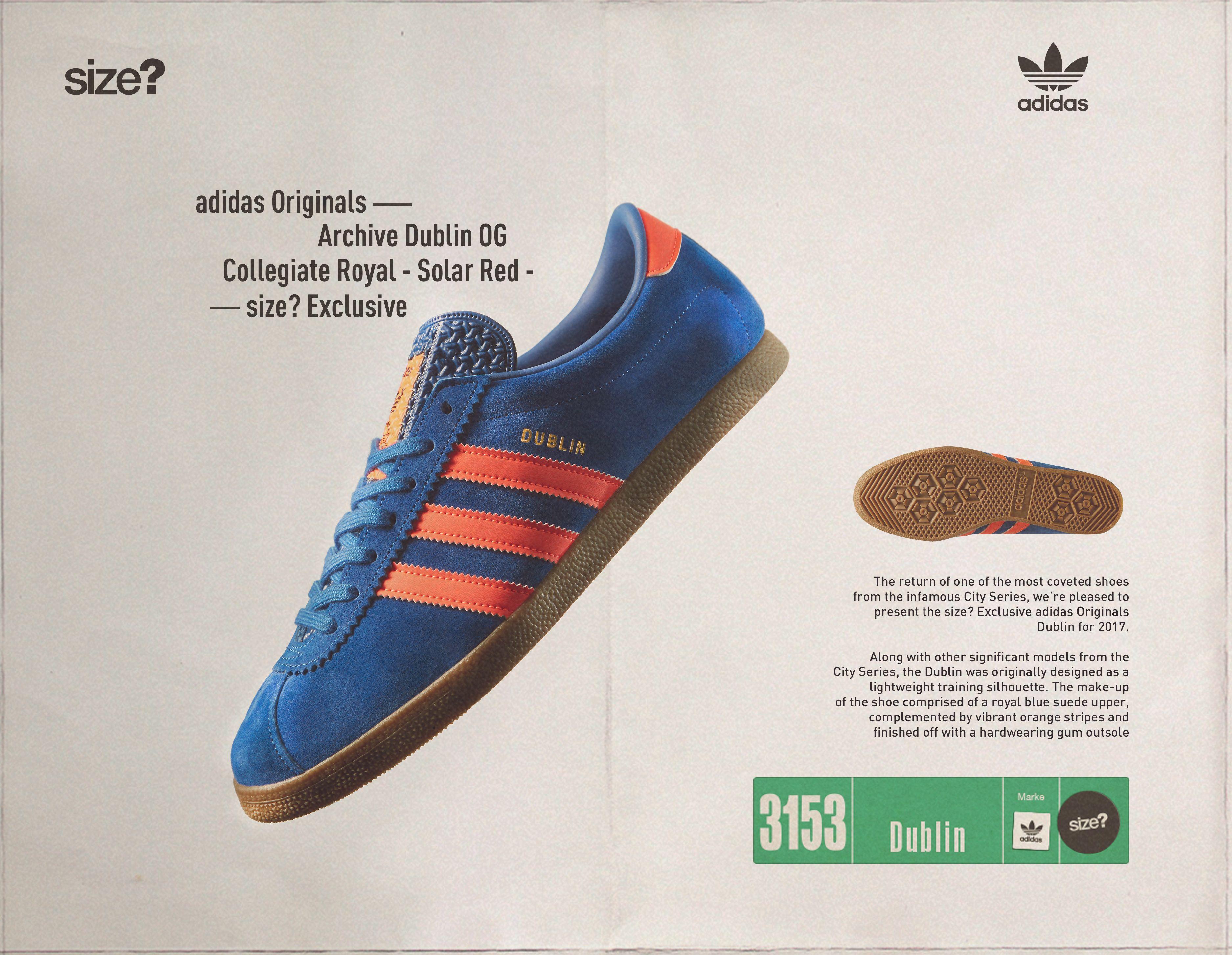 adidas Originals Archive Dublin - size? Exclusive | Adidas