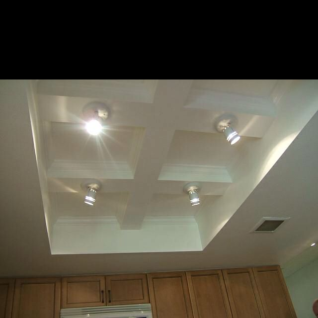 Brilliant Way To Update Fluorescent Lighting In The Kitchen