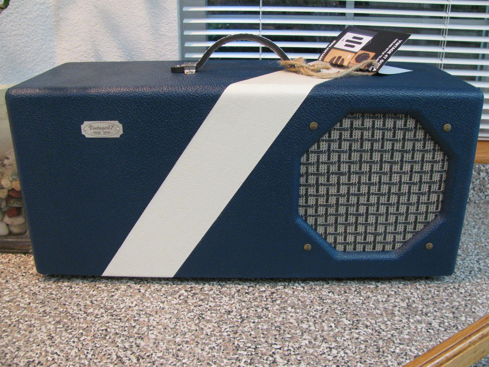 Gitarrenverstärker Oahu Koffer Schlagzeug Marineblau Gitarren Internet Bass Amps Gretsch