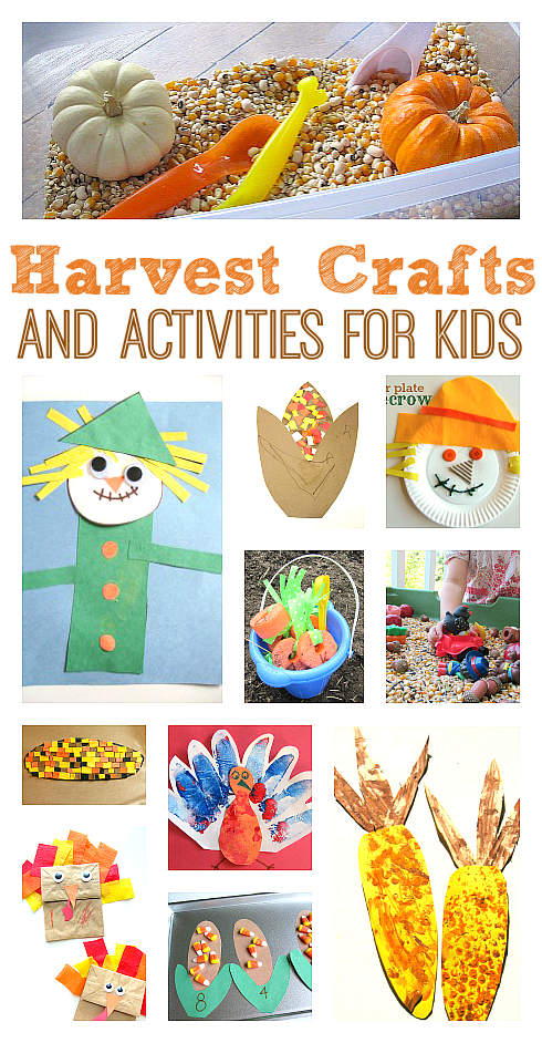 harvest craft ideas for kids
