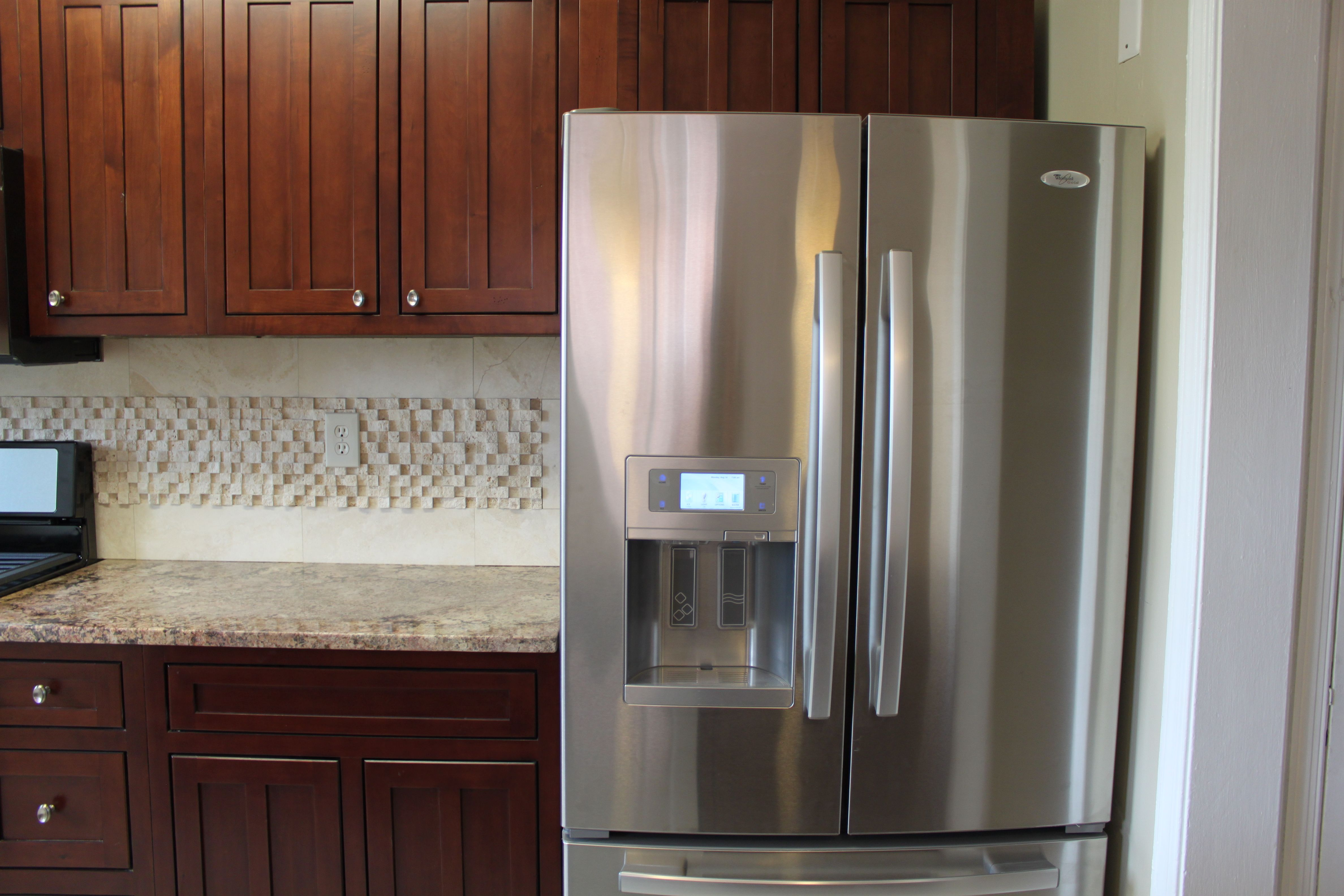 Whirlpool Gold Stainless Steel French Door Refrigerator With Digital