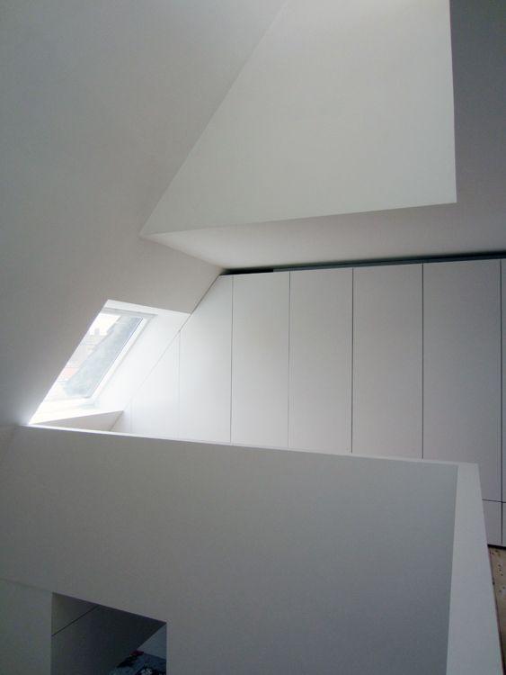 Champs elys es nicolas vanden eeckhoudt laurence creyf interiors attic ii pinterest - Nicolas kleine architect ...