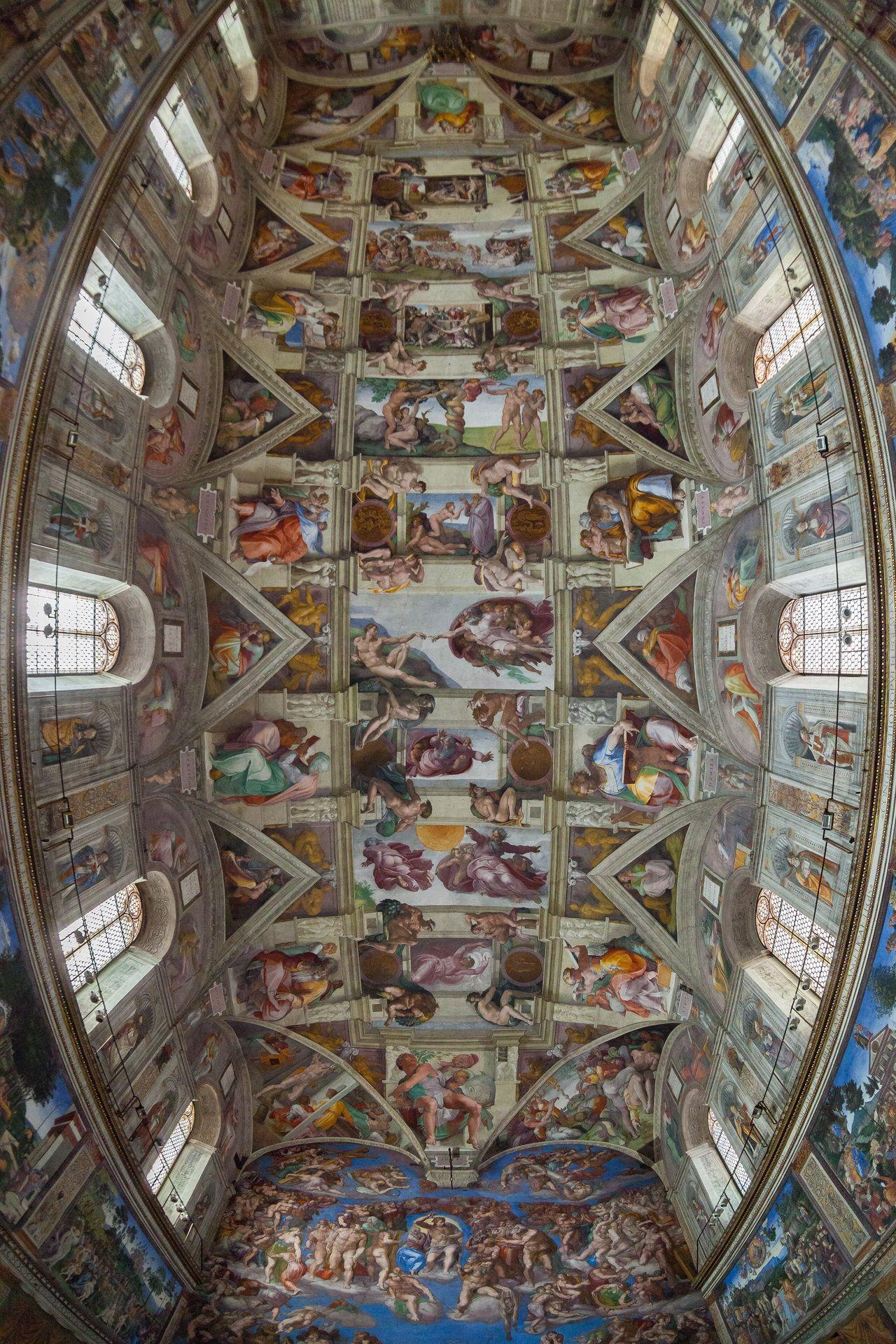 Las Mejores 190 Ideas De La Sixtina Capilla Sixtina Renacentismo Pintores Italianos