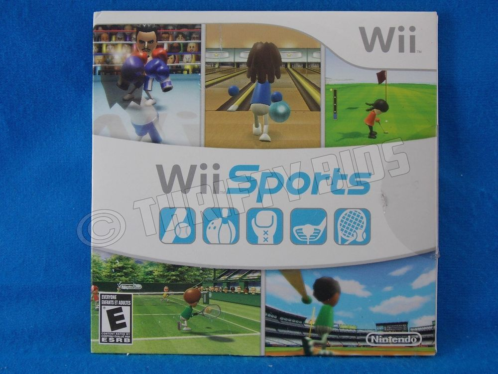 Nintendo Wii Sports 2006 Paper Sleeve OEM NEW Bowling