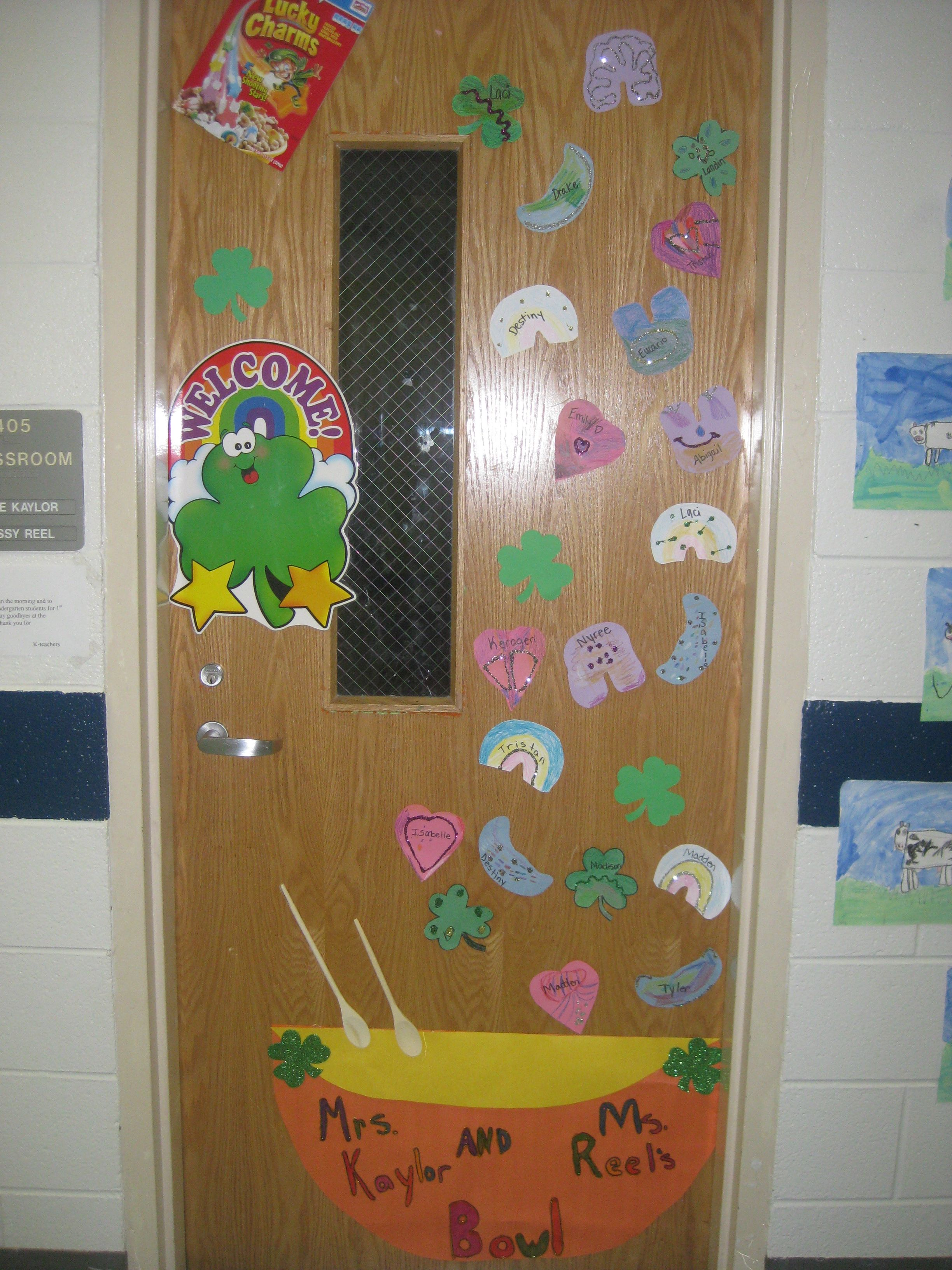 My Door My Bowl Of Lucky Charms