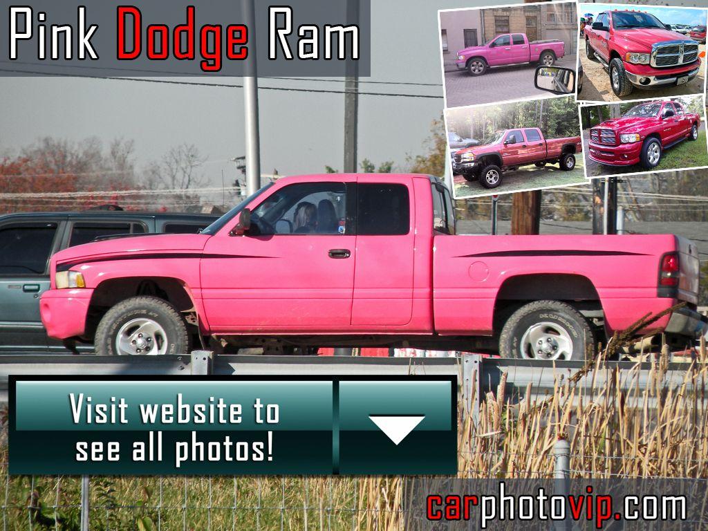 Pink Dodge Ram Photos Car Pinterest Dodge Rams Cars And - Ram cool cars