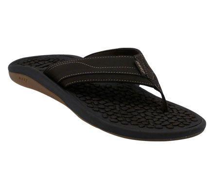 0da02ed92cdf Mens Reef Playa Negra Thong Sandals