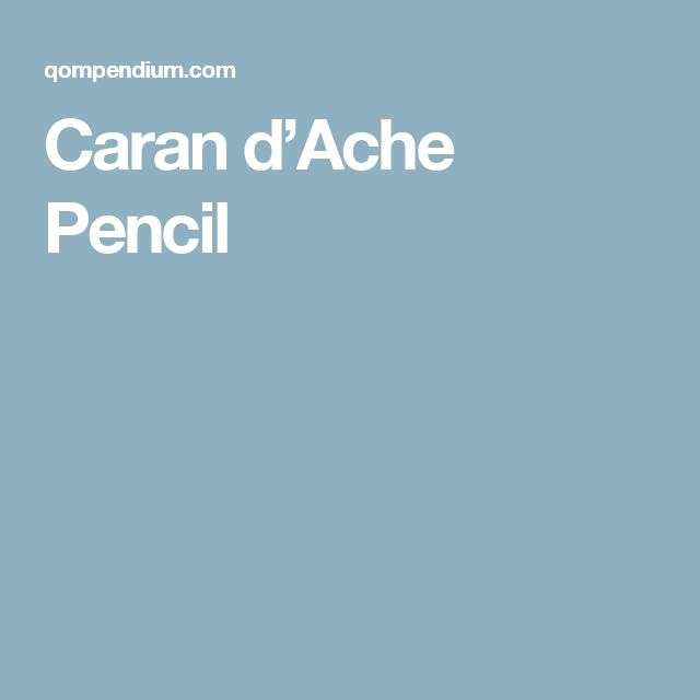 Caran d'Ache Pencil