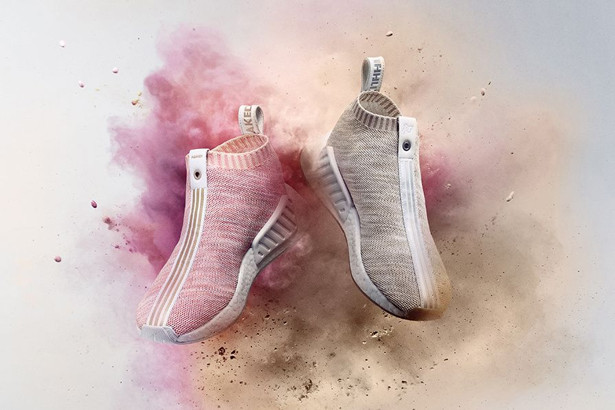 sale retailer 683ea 4a871 KITH x NAKED Introduce the adidas Consortium NMD CS2  HYPEBEAST