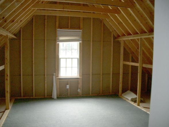Finishing Attic Space Ideas Room Converted Attic Space Above