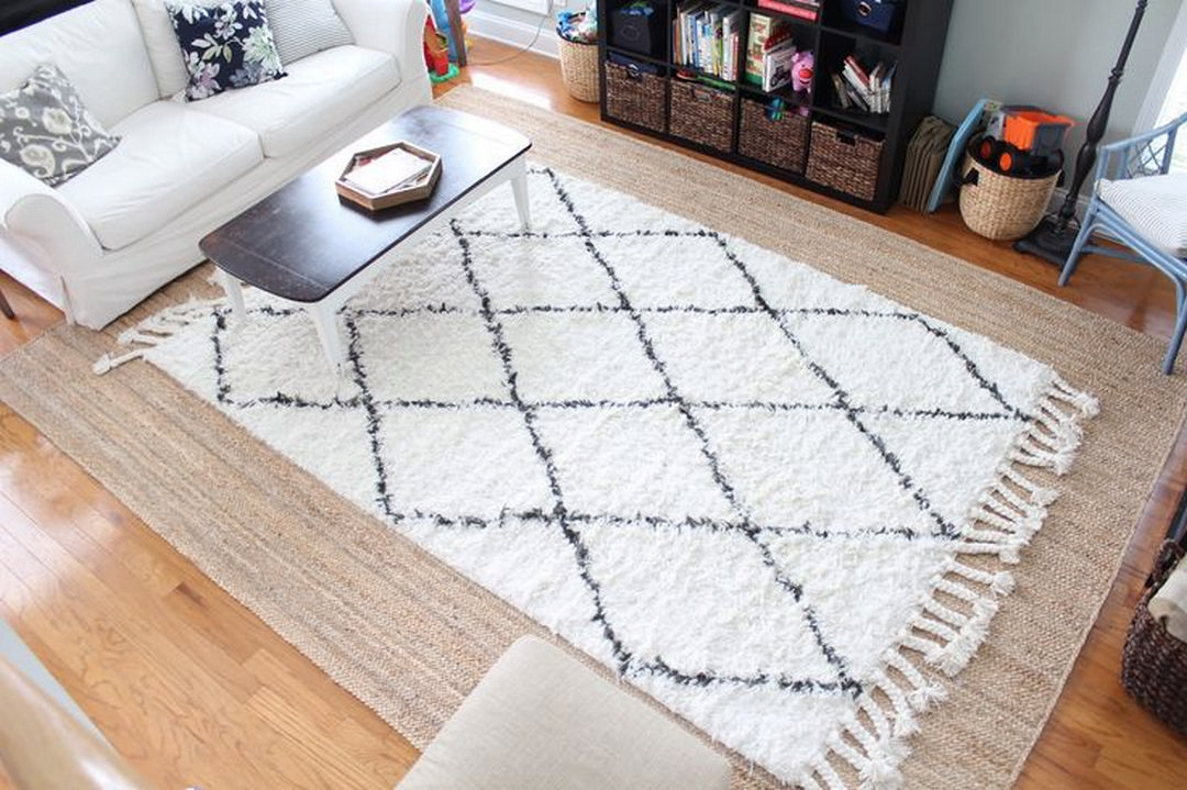 Coogee House Ii A Family House With A Layering Of Spaces For Privacy And Flexibility Jute Rug Living Room Layered Rugs Rugs In Living Room