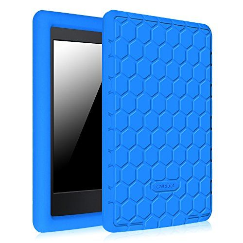 Fintie Silicone Case For Kindle Paperwhite Honey Comb Light Weight Anti Slip Shock Proof Cover Kids Friendly For Silicon Case Amazon Kindle Kindle Fire Tablet