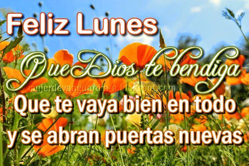 Tarjeta Y Poema De Feliz Lunes Dias Imagenes De Feliz Lunes