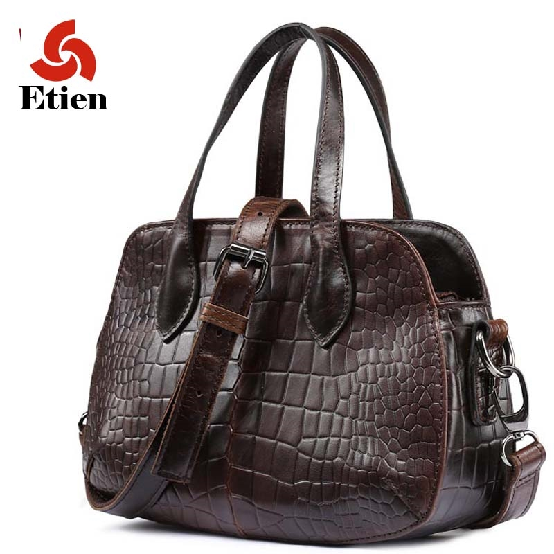 33.89$  Buy now - women's handbags genuine leather shoulder alligator tote bag fashion bags of famous brands luxury handbags women bags designer  #buyonlinewebsite
