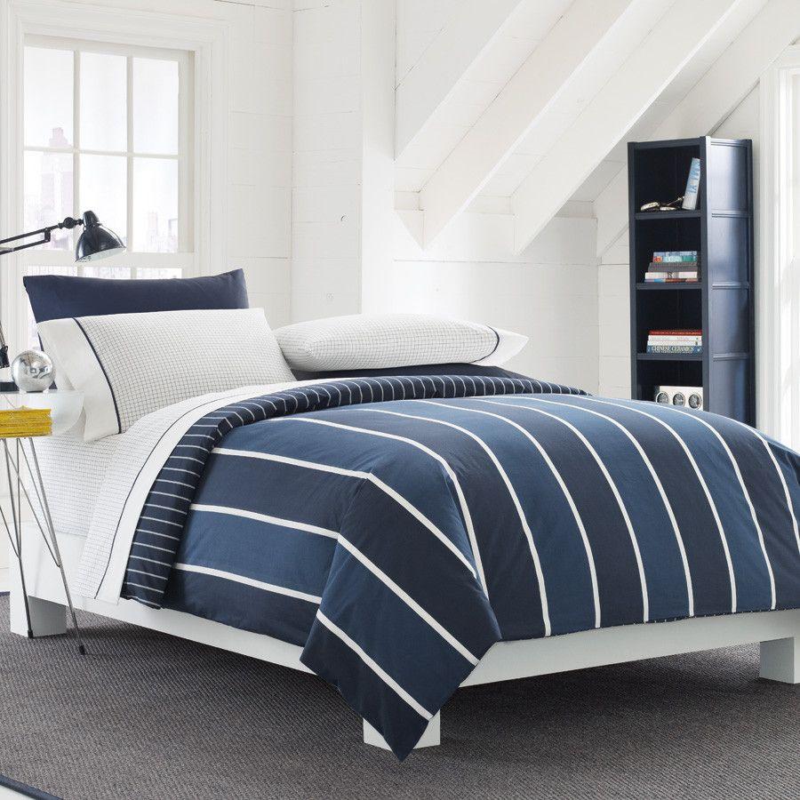 Nautica Knotts Bay Twin Xl Dorm Comforter Sheets Bedding Set Navy