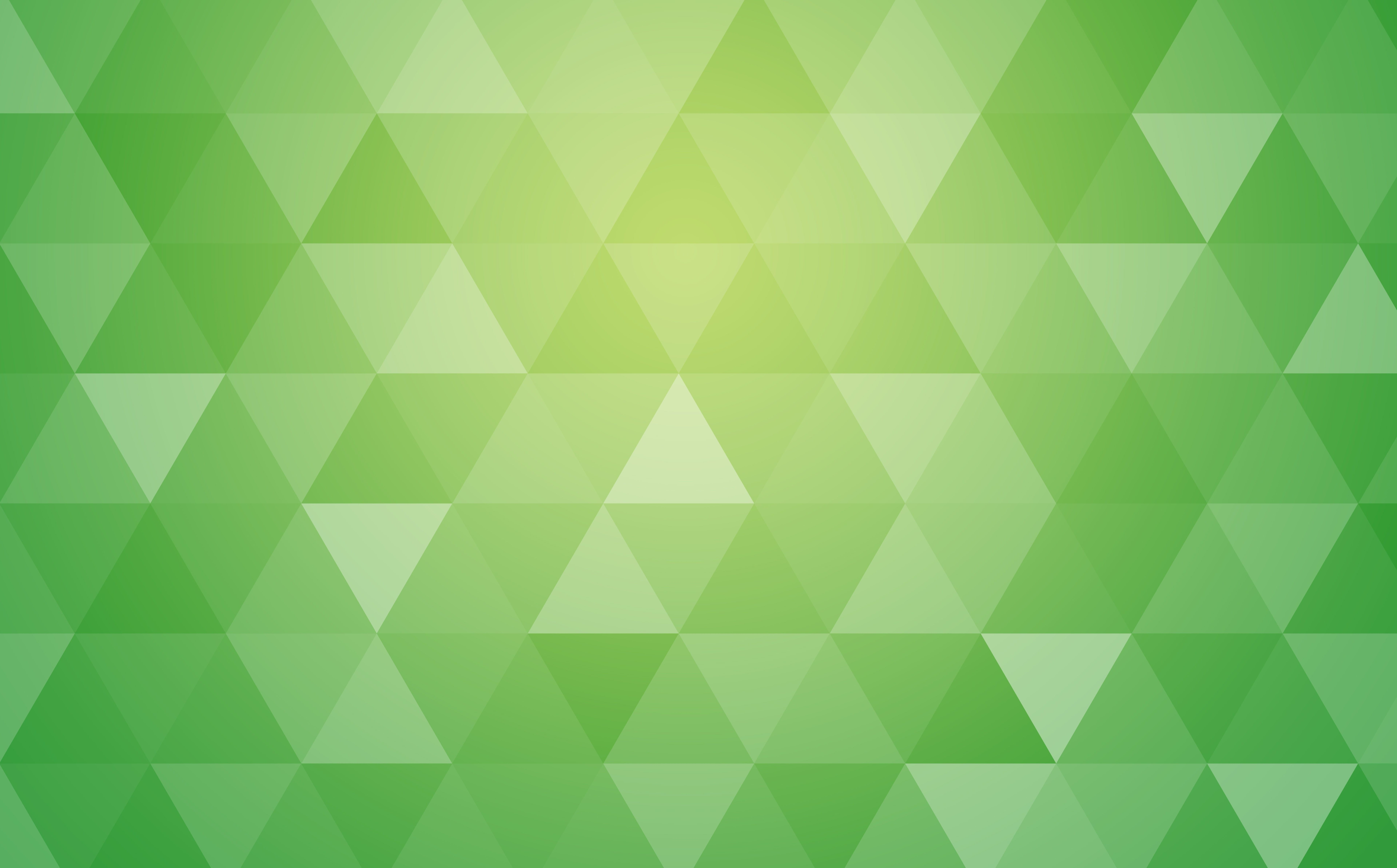 Green Abstract Geometric Triangle Background Aero Patterns