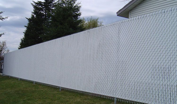 Slats For Chain Link Fences Fence Slats Wind Screen Backyard Plan