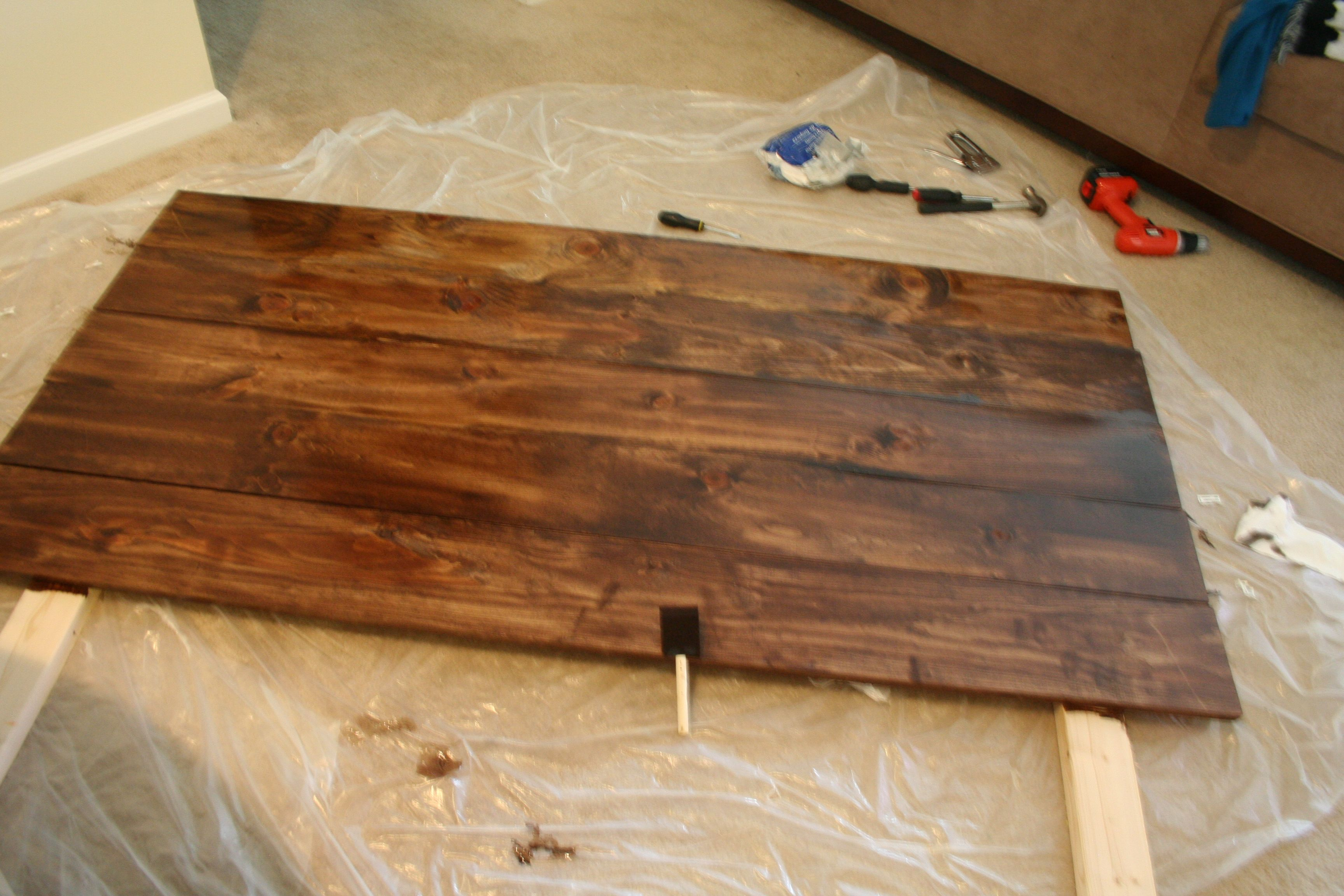 Early American Bedroom Furniture Minwax Special Walnut Stain On Pine Wood Finishes