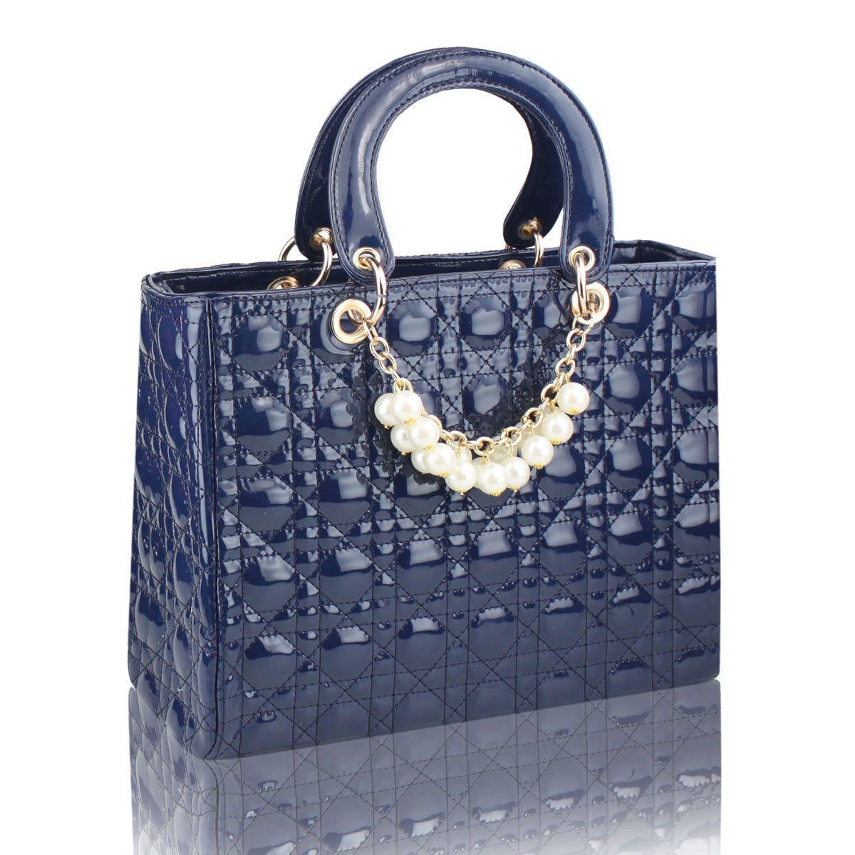 Sunny Women S Handbag Plaid Fashion Bridal Bag Wedding Party Beading Shoulder Pu Leather