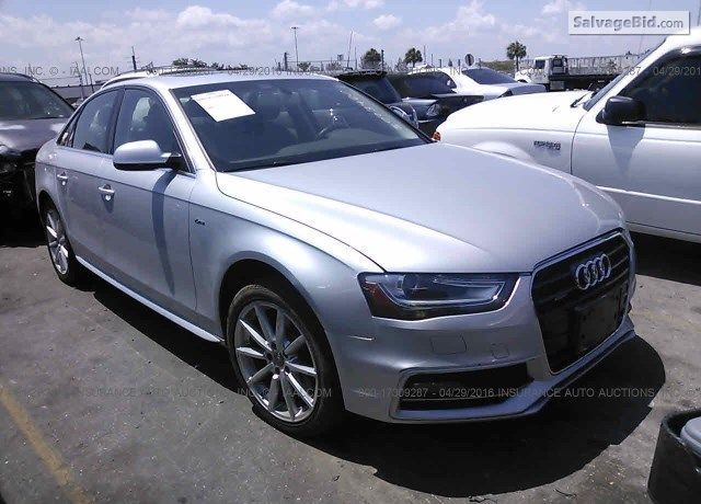 2014 Audia4 For Sale At Salvage Cars Auction In Opa Locka Fl