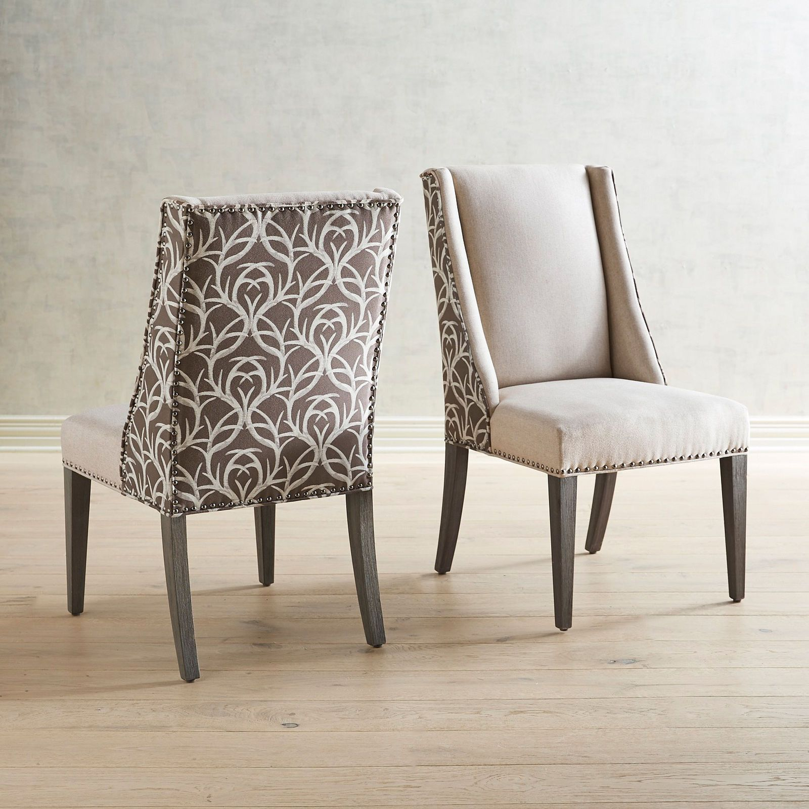 Extra Points Flax Dining Chair With Gray Wash Wood