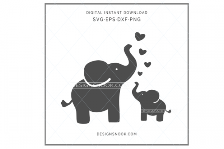 Download Mom And Baby Elephant Svg 516111 Svgs Design Bundles Mom And Baby Elephant Baby Elephant Mom And Baby