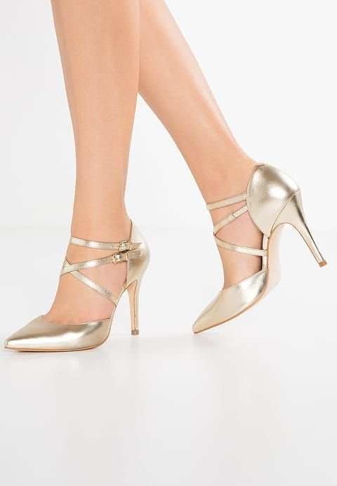 Zalando gold pumps