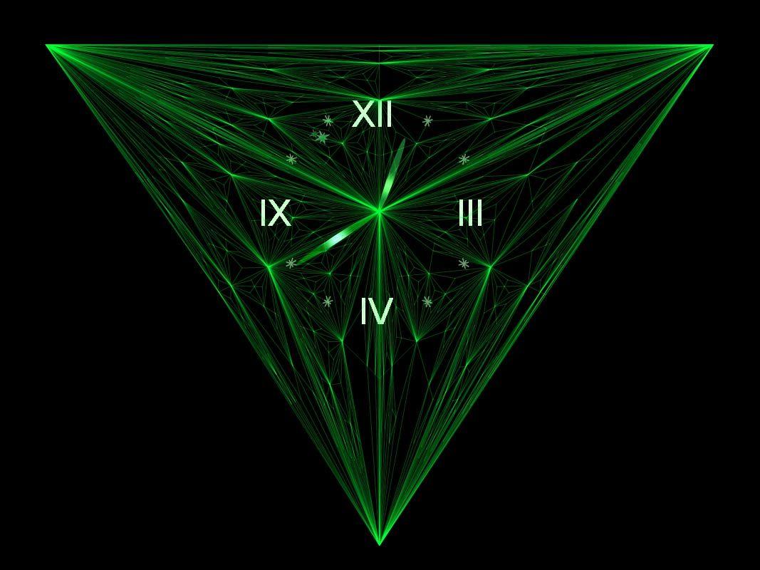 Alien Plasma Tunnels 3d Live Wallpaper Screensavers 7art Emerald Clock Screensaver Keep