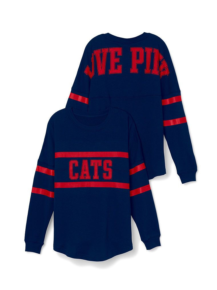 6f450f6f673aa University of Arizona Varsity Crew - PINK - Victoria's Secret ...