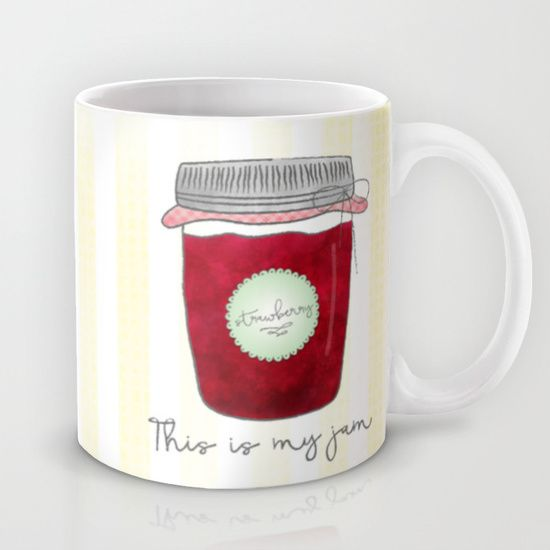 Buy This is my jam by Noonday Design as a high quality Mug. Worldwide shipping available at Society6.com. Just one of millions of products available.