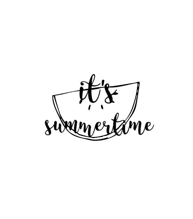 Itu0027s Summertime Lettering