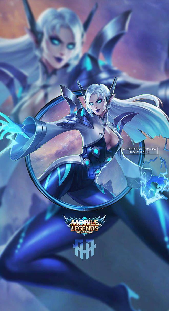 Wallpaper Phone Eudora Lightning Sorceress By FachriFHR