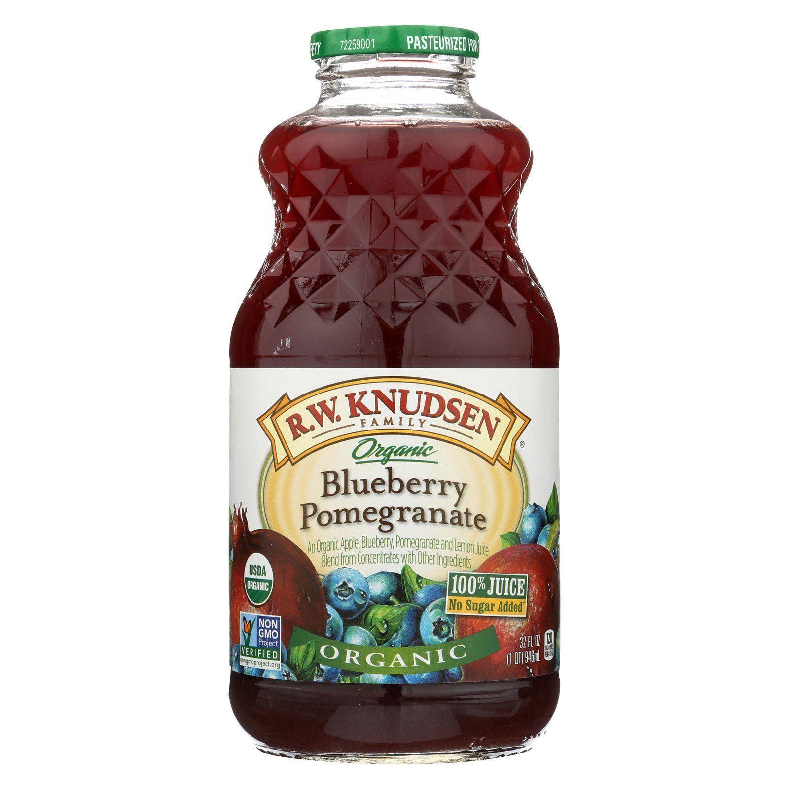 R.w. Knudsen Organic Juice Blueberry Pomegranate Case