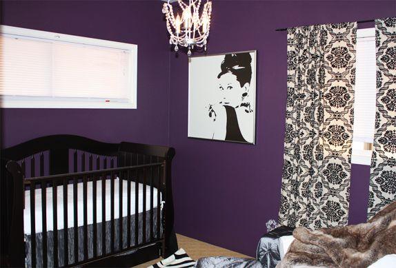 Baby Nursery Decor Room Themes Design Ideas Project Nursery Purple Nursery Girl Nursery Bedding Toddler Rooms