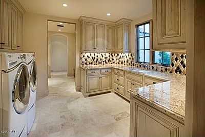 travertine tile in kitchen scottsdale az 85255 luxurious laundry room laundry room 6359