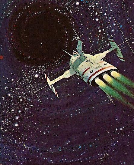 Vintage Sci Fi Art Added A New Photo: ...Inspiring Retrofuturistic Art & Design From Sputnik To