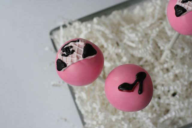 Chanel Purse & Christian Louboutin Cake Pops, Flickr - Photo Sharing!