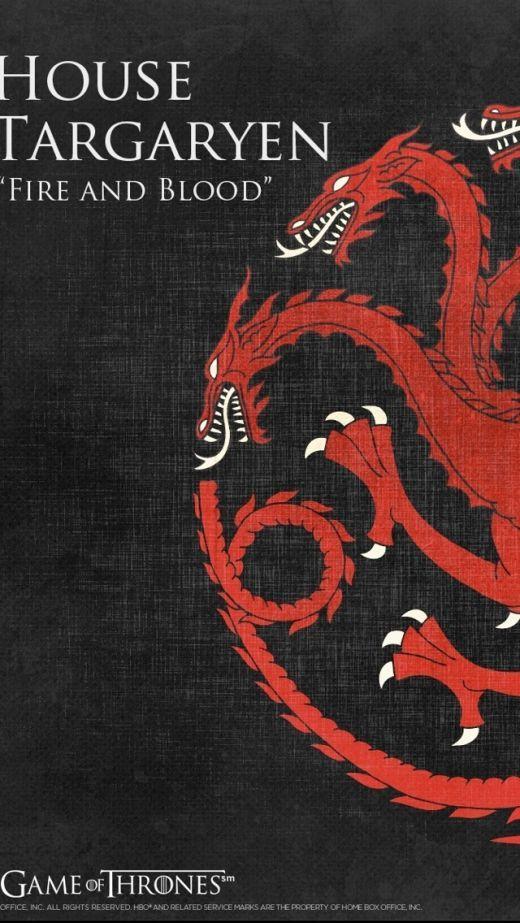 Game Of Thrones Targaryen Hd Iphone 5sc Wallpaper