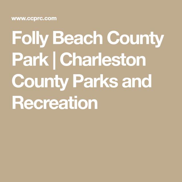 Folly Beach County Park   Charleston County Parks and