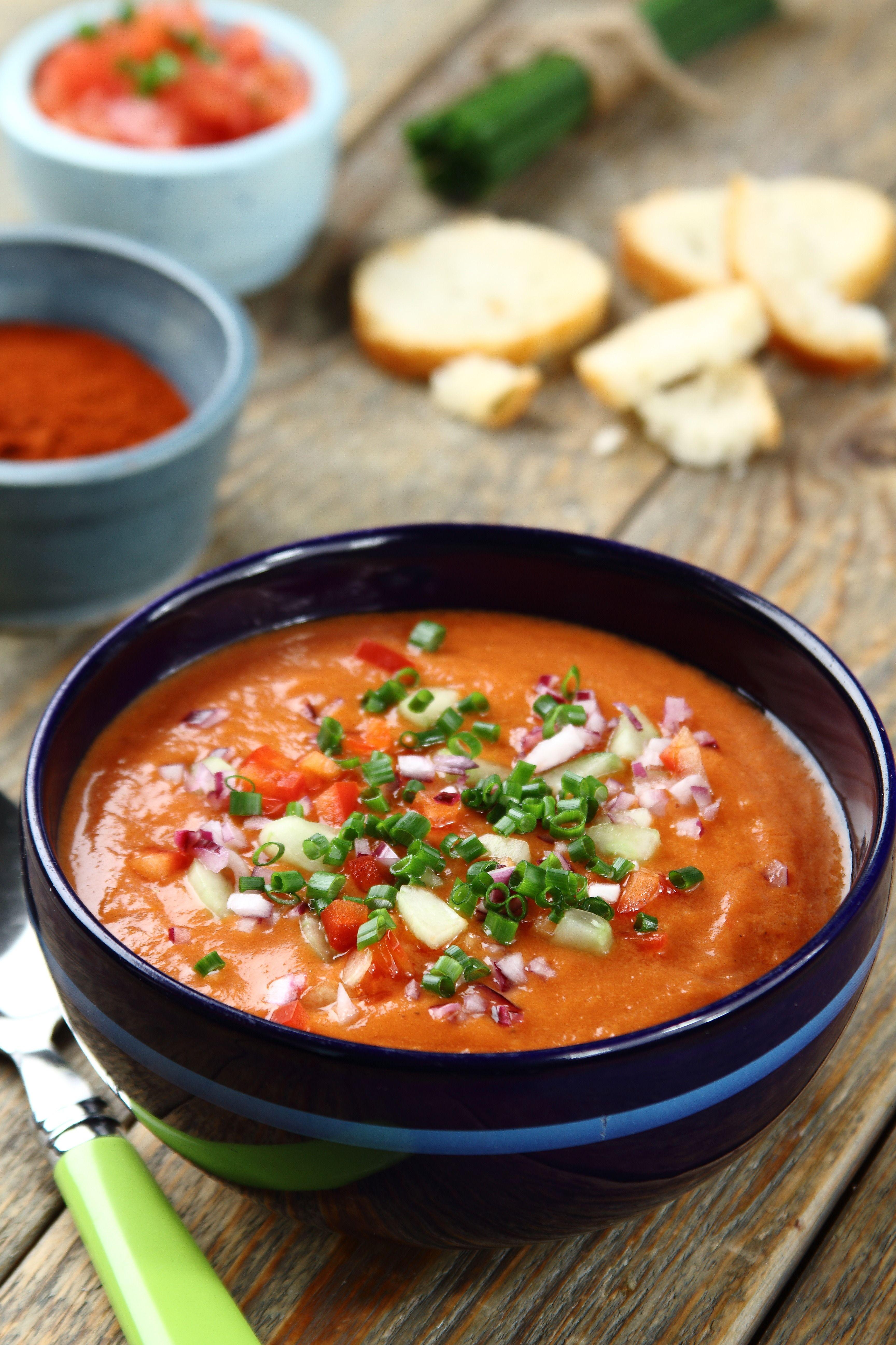 Gazpacho Przepis Zobacz Na Przepisy Pl Recipe Homemade Soup Recipe Delicious Soup Culinary Recipes