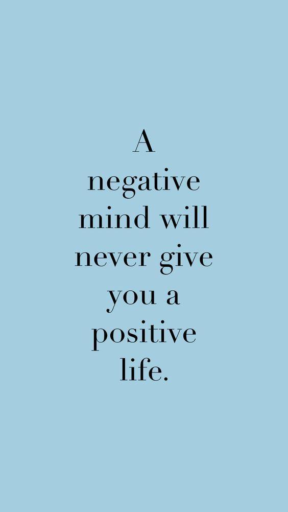 Positive life...