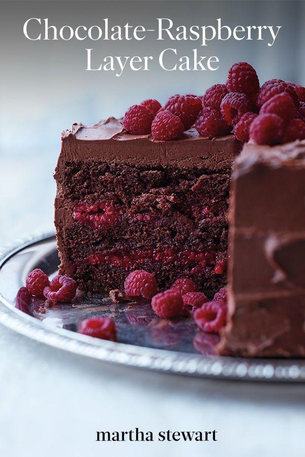 Photo of Chocolate-Raspberry Cake