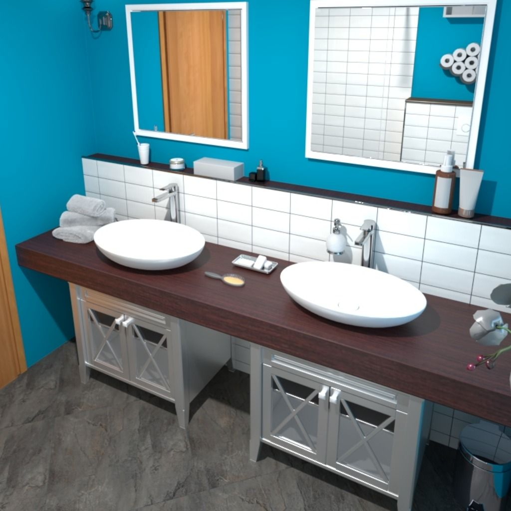 Nov Izris Kopalnice Za Stranko Retro Dizajn Retro Bathroom