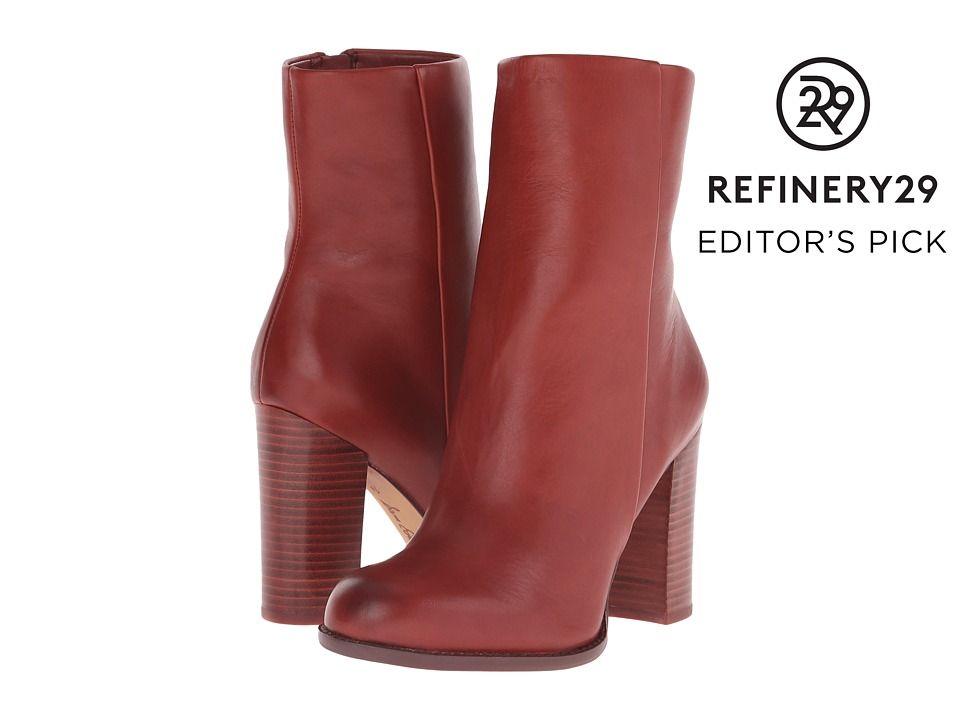 99a936fcab5c99 SAM EDELMAN SAM EDELMAN - REYES (RUST RED) WOMEN S ZIP BOOTS.  samedelman   shoes