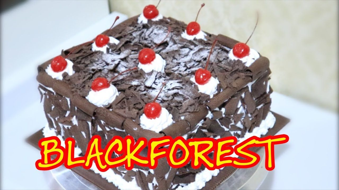 Resep Black Forest Kue Ultah Legendaris Youtube Resep Biskuit Ide Makanan Makanan