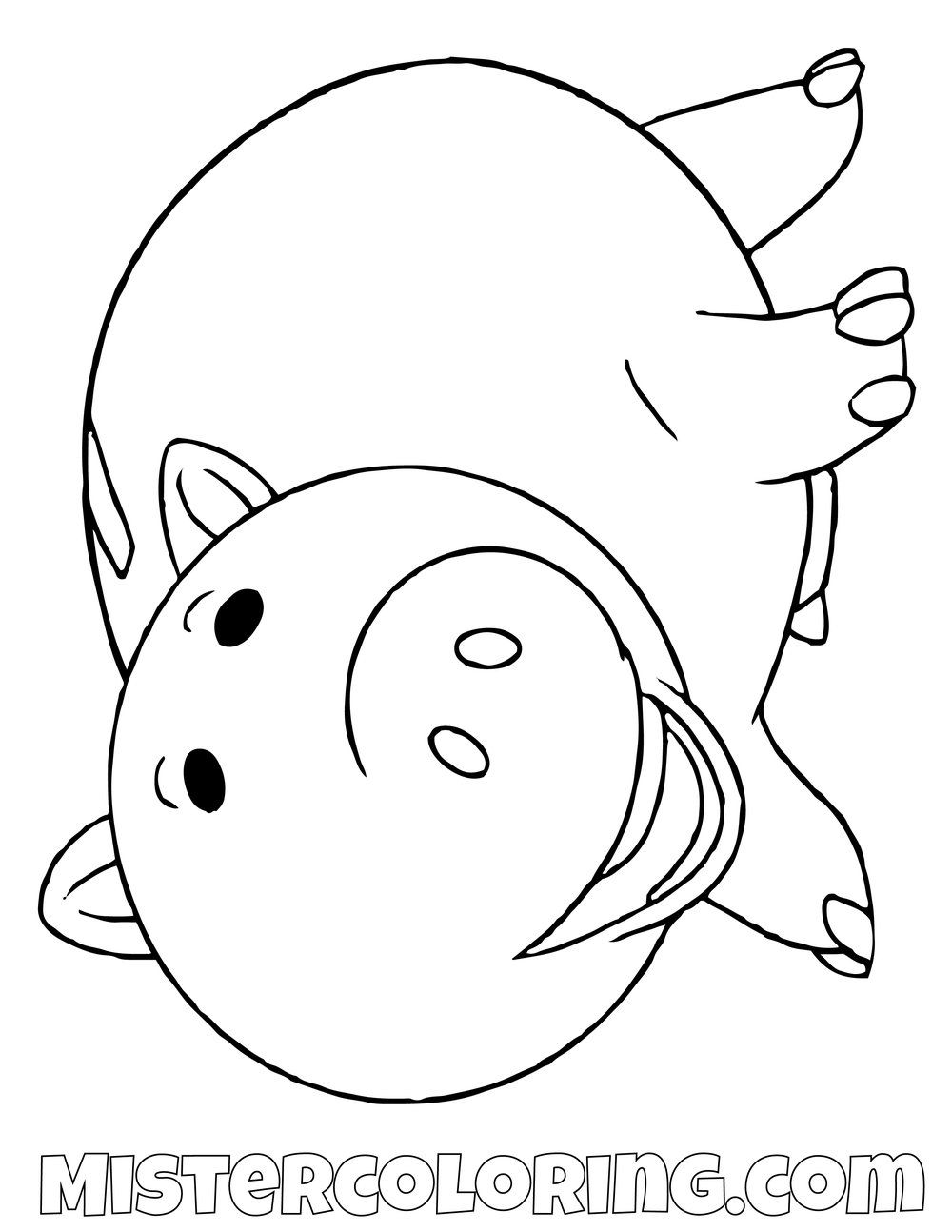 Ham Toy Story Coloring Page Toy Story Coloring Pages Coloring