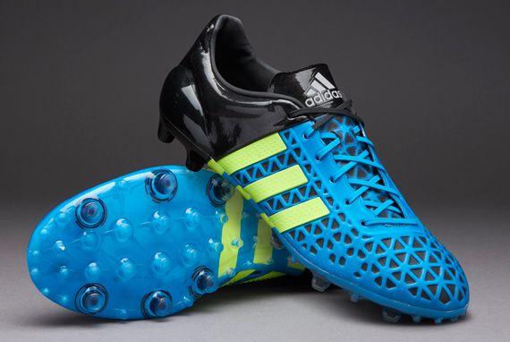 adidas ACE 15.1 FG AG - Solar Blue Solar Yellow Core Black ... c90fbf2b0