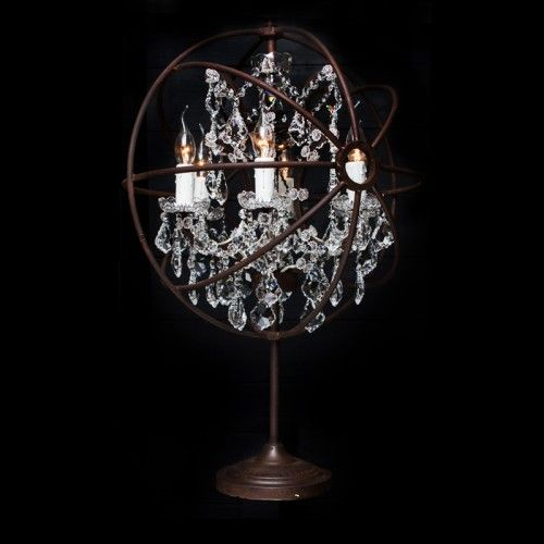 Crystal Table Lamp Timothy Oulton