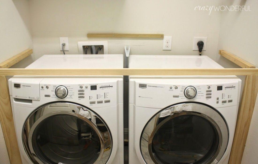 Photo of laundry room   progress – Crazy Wonderful